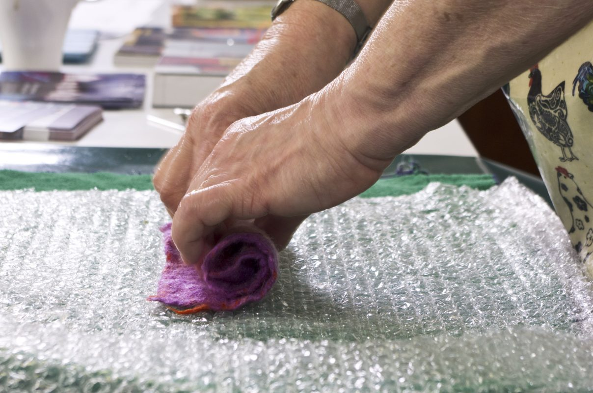 Making felt things